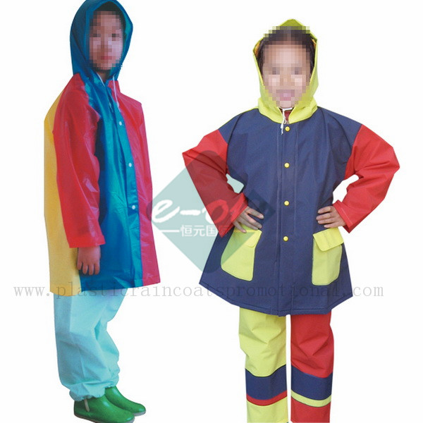 EVA Plastic Raincoats