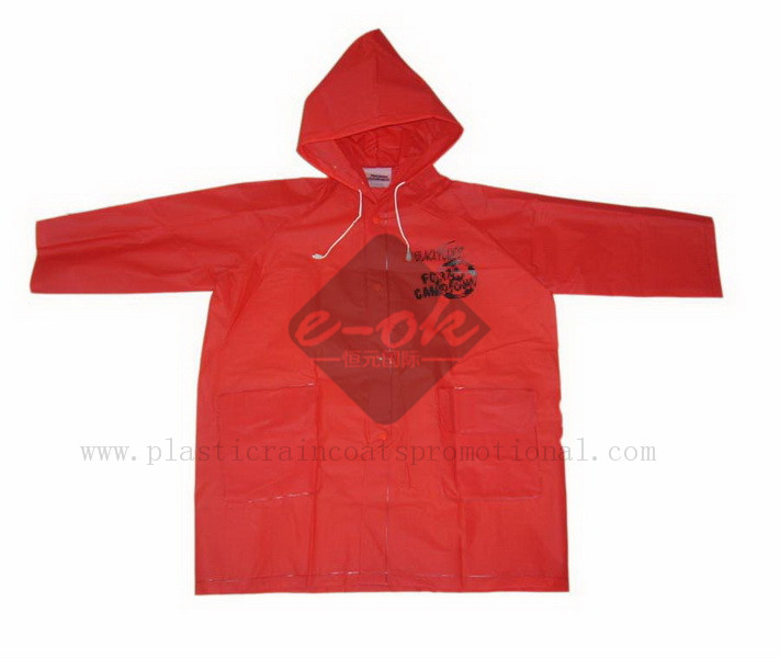EVA raincoats-plastic PEVA raincoat-EVA rain jacket