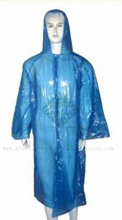 PE disposable raincoats-plastic raincoats-Emergency Raincoats