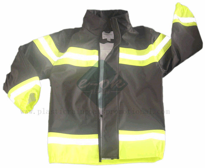 PU raincoats PU rain jacket-PU plastic raincoats