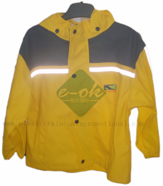 PU raincoats-safety raincoat