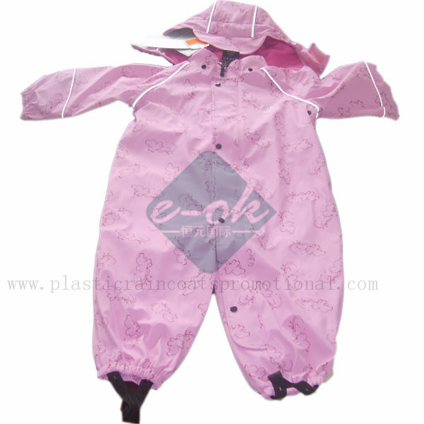 kid's raincoat-PU Raincoat