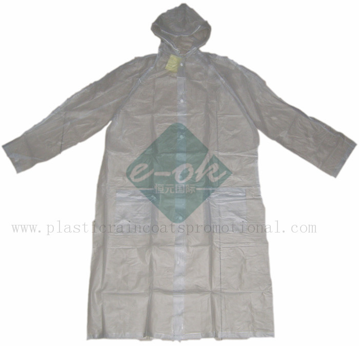 pvc plastic raincoats-vinyl promotional raincoats
