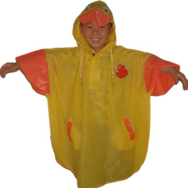 plastic raincoats